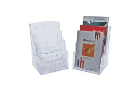 A4 BROCHURE HOLDER 3 TIER